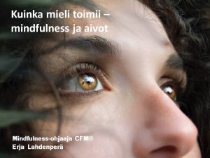 helsinki-mindfulness-aivot-erja-lahdenpera
