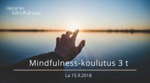Mindfulness-koulutus 3 t, Helsinki Mindfulness