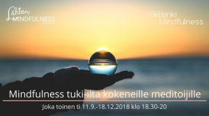 mindfulness tuki-ilta 2, Helsinki Mindfulness, Erja Lahdenperä