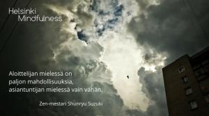 Aloittelijan mieli, Helsinki Mindfulness, Erja Lahdenperä
