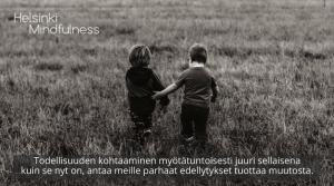 Hyväksyvä läsnäolo, Helsinki Mindfulness, Erja Lahdenperä