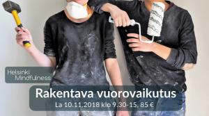 Helsinki Mindfulness, Rakentava vuorovaikutus, Erja Lahdenperä