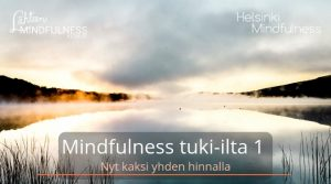 Helsinki Mindfulness, Mindfulness tuki-ilta 1