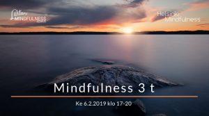 Helsinki Mindfulness, Mindfulness 3 t