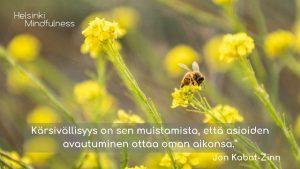 Helsinki Mindfulness, Erja Lahdenperä, Kärsivällisyys