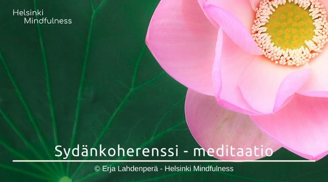 sydankohrenssi-meditaatio-helsinki-mindfulness-erja-lahdenpera